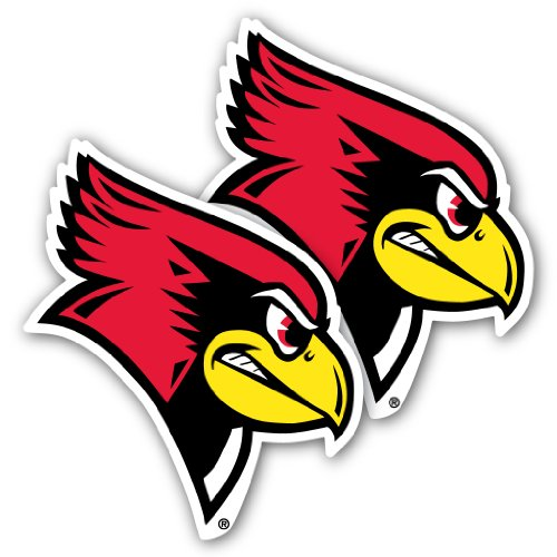 State University Window - VictoryStore Illinois State University - Window Decal (Set of 2) - Redbirds