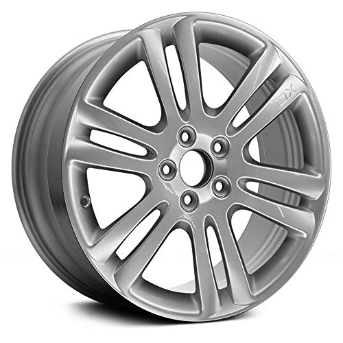 Replacement 6 Double Spokes Bright Hyper Silver Factory Alloy Wheel Fits Volvo XC90
