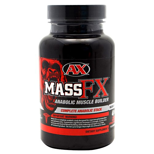 Athletic Xtreme Mass FX Noir Capsules, 112 comte