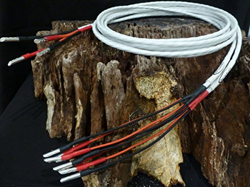 Nerve Audio Axon 18 Bi-Wire Silver Plated OFC Speaker Cable
