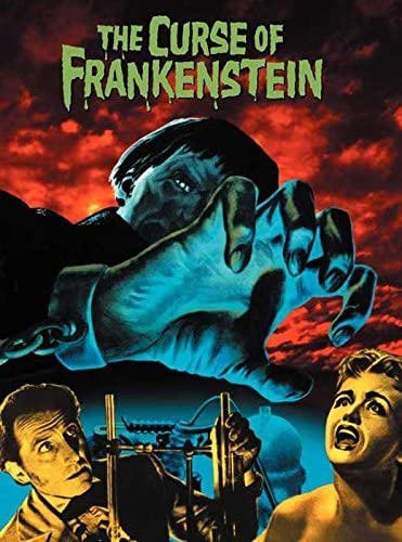 The Curse of Frankenstein Poster////The Curse of Frankenstein Movie Poster////Movie