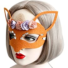 Sexy Elegant Eye Face Mask Masquerade Mask for Halloween Costume Ball Carnival Fancy Party By Makaor