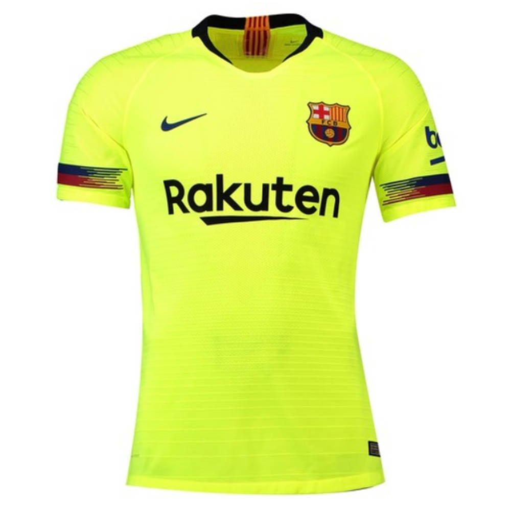 21cb2dec4 Amazon.com  Nike 2018-2019 Barcelona Vapor Match Away Football Soccer T-Shirt  Jersey  Clothing