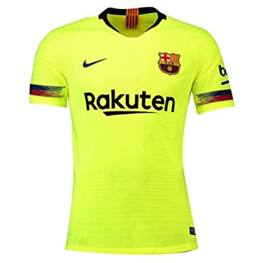 Amazon.com  Nike 2018-2019 Barcelona Vapor Match Away Football Soccer T- Shirt Jersey  Clothing fbdb7794b7f50