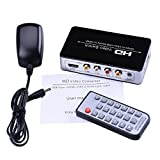 1080p HDMI/CVBS/USB Media to HDMI Video Switch Extractor HDMI Converter Adapters