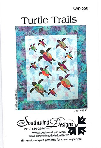 Abbey Quilt - Turtle Trails Quilt Pattern by Southwind Designs SWD-205 74.5