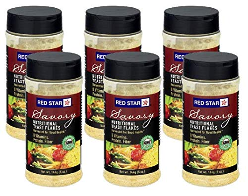 Red Star Yeast Flake Nutritional Shaker Jar, 5 oz (Pack of 6) by Red Star (Image #5)