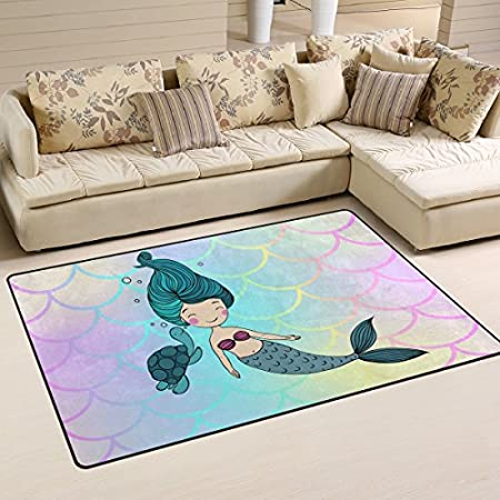 51WwMybu5CL._SS450_ 50+ Mermaid Themed Area Rugs