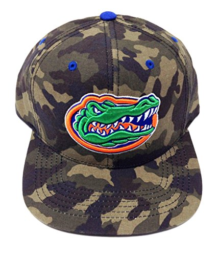 Florida University Wood (NCAA Woodland Camo Flat Bill Snapback (University of Florida - Gators))