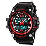 Military Watch Men's Watches for Men Multifunction Sports Waterproof LED