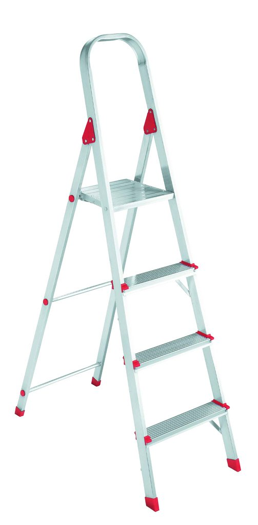 Louisville Ladder L2346-03 200-Pound Duty Rating Euro Aluminum Platform Ladder, 3-Foot by Louisville Ladder