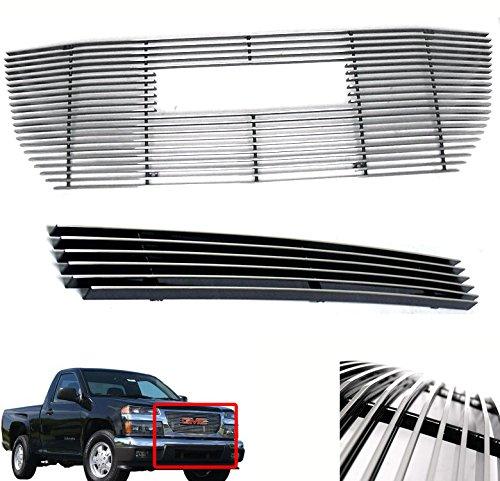 ZMAUTOPARTS GMC Canyon Pickup Truck Front Upper+Bumper Billet ()