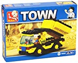 Sluban Lego Compatible Heavy Engineering Truck Set - 93 Pieces, Multi Colour