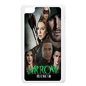 James-Bagg Phone case Super Hero Green Arrow Protective Case FOR IPod Touch 4th Style-12
