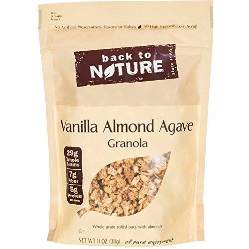 Back to Nature Vanilla Almond Agave Granola, 11 Ounce - 6 per case.