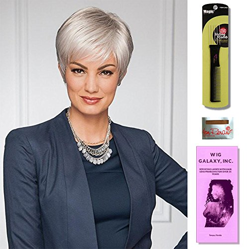 - Renew by Gabor Wigs, Wig Galaxy Hair Loss Booklet, Wig Cap & Magic Wig Styling Comb/Metal Pick Combo (Bundle - 4 Items) (G12+)
