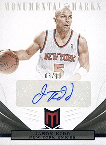 Image Unavailable. Image not available for. Color  Jason Kidd Autographed  2013 Panini Monumental Marks Card ... 3caaf46c0