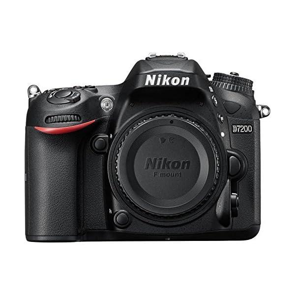 51WwOwqWlaL. SS600  - Nikon D7200 DX-Format DSLR Body (Black)
