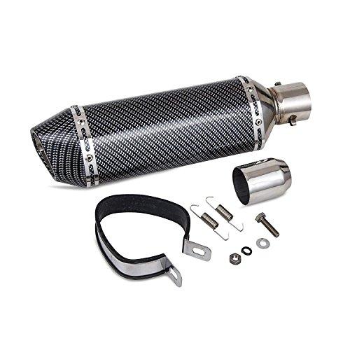 ETbotu 51mm Motorcycle Exhaust Can Pipe Baffle Muffler Silencer Set Noise Sound Eliminator for Motorbike Yamaha Suzuki Kawasaki Honda by ETbotu (Image #3)