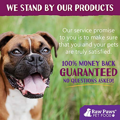 Raw Paws Pet Premium Freeze Dried Pet Food for Dogs and Cats, 16-ounce - Antibiotic-Free Chicken - Made in the USA - Grain Free Diet