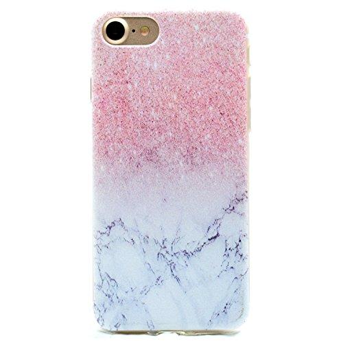 Für Apple iPhone 6 Plus (5,5 Zoll) Hülle ZeWoo® TPU Schutzhülle Silikon Tasche Case Cover - MM063 / Marmor