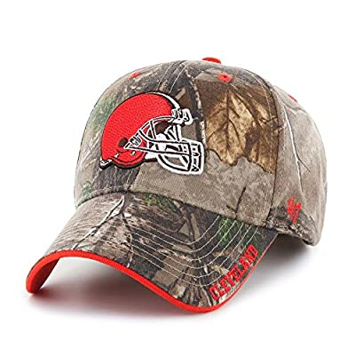 '47 Cleveland Browns Realtree Frost Adjustable Hat by 47 Brand