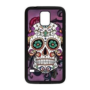 Nymeria 19 Customized Sugar Skull Diy Design For Samsung Galaxy S5 Hard Back Cover Case DE-369