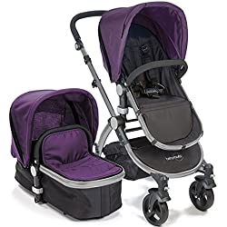 babyroues Letour II Stroller, Purple