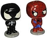 POP Marvel Salt N' Pepper Shakers - Spider-Man Black Suit Spider-Man