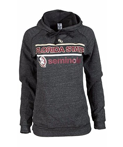 Official NCAA Florida State University Seminoles FSU Noles Women's Buttersoft Tri- Blend Hooded Sweatshirt (Seminoles Sweatshirt)