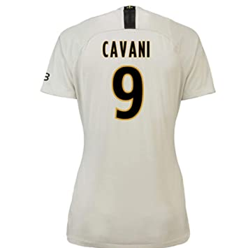 2018-19 PSG Away Womens Football Soccer T-Shirt Camiseta (Edinson Cavani 9