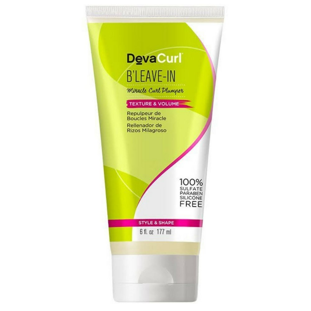DevaCurl B'Leave-In Miracle Curl Plumper 6 oz (Pack of 3)