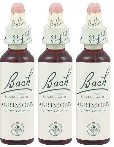 (3 PACK) - Bach Original Flower Remedies - Agrimony | 20ml | 3 PACK BUNDLE by Bach Original Flower Remedies