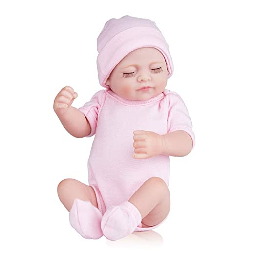 Hecho a mano 28 cm renacimiento muñeca bebé niña realista ...