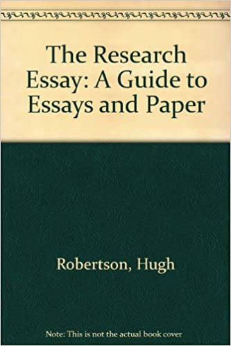 amazoncom the research essay a guide to essays and paper  the research essay a guide to essays and paper th rev edition