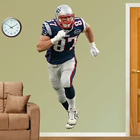 Rob Gronkowski - New England Patriots Fathead Wall Decal & Rob Gronkowski - New England Patriots Fathead Wall Decal: Amazon.co ...