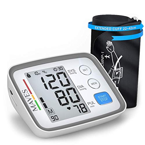 [Upgraded 2020] Blood Pressure Monitor -Automatic Digital Upper Arm BP Cuff -Fast Systolic & Diastolic Readings -2-Person Mode-3.5
