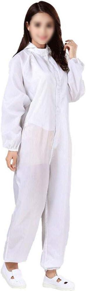 SHANGLY Wiederverwendbar Schutzanzug Antistatischer Staubschutz Arbeitskleidung f/ür die Mechatronik Industrie und die pharmazeutische Fertigung