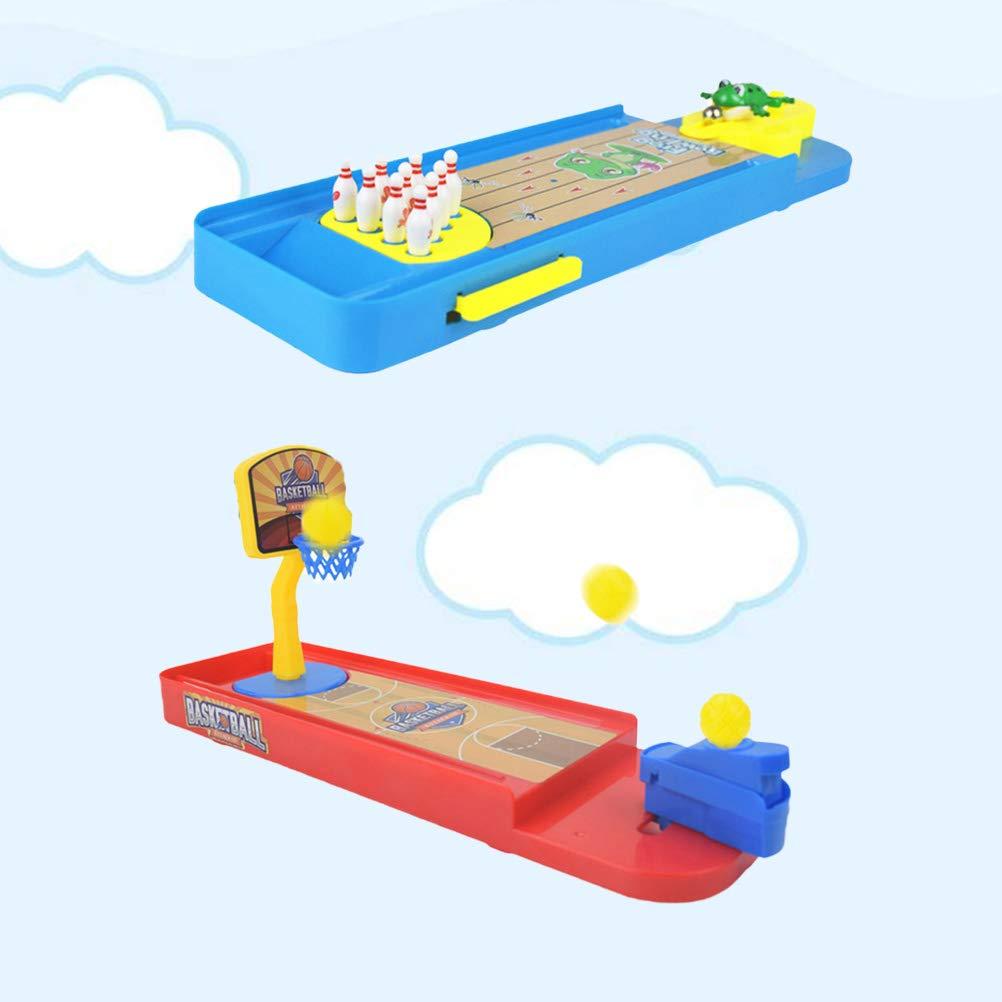 Toyvian 2 Sets Juegos de Deporte de Escritorio Mini Juego de Tiro ...