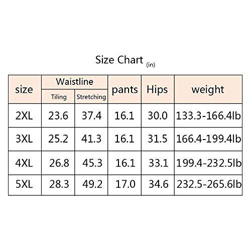 Controllo Cotone Mutandine Slim Yuccer Nero e Controllo Slim a Shapewear Vita Mutande Alta in di Donna di SqT6S0g