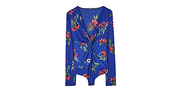 Stradivarius - Camisas - para mujer 045 L: Amazon.es: Ropa y ...