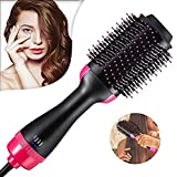 One Step Hair Hot Air Brush & Volumizer,Dryer Straightener Paddle...