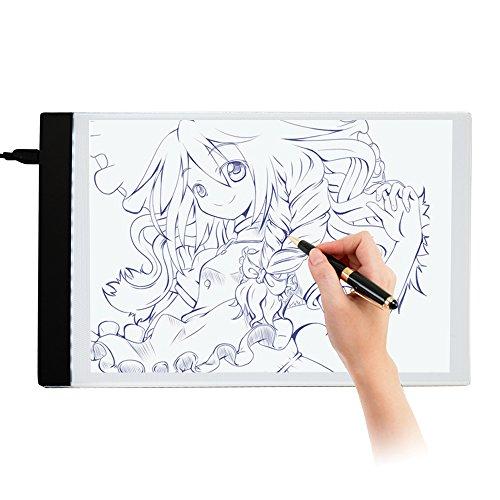 Ultra-thin LED A4 Light Box Display Pad Drawing Board Stencil Artist Art...