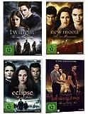 Twilight 1-4 Teile 1+2+3+4.1 - 4DVDs Kristen Stewart, Robert Pattinson, Box, 1,2,3,4, Biss zum Morgengrauen, Abendrot, Mittagsstunde, ende der Nacht Eclipse, Collection