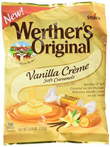 - Werther's Original Vanilla Crème Soft Caramels, 4.51 Ounce