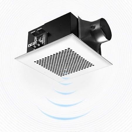 Ventilación Extractor Techo tubo de ventilación del ventilador integrado Full Metal Extractor de humos fuerte for la cocina WC: Amazon.es: Hogar