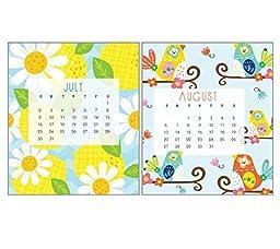 2017 CD Case Desk Calendar-Art by Silvia Cheung