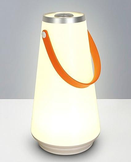 Amazon Com J J Portable Camping Lantern Touch Sensor Table Lamp