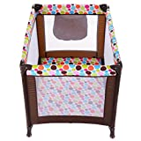 K&A Company Playard Baby Bassinet Travel Portable Bed Playpen Toddler Foldable Pack Play Crib Infant