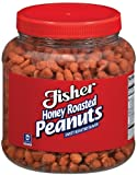 Fisher Peanuts Honey Roasted, 18-Pound Packages